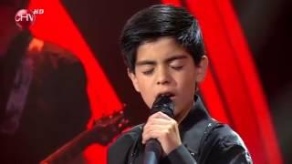 Álex Rubio, ganador de la Primera Gala de Súper Estrellas 2014 con la canción Sueño Imposible.