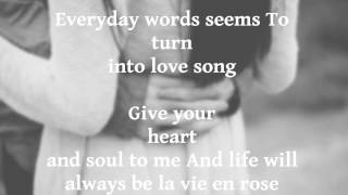 La vie en rose   Daniela Andrade   Lyrics