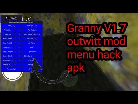 Granny v1 7 outwitt mod menu download | Granny latest v1 7