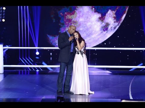 Monica Andrei & Howard Dell – Somewhere Out There | Confruntari | Vocea Romaniei 2016