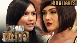 Cassie, kinompronta si Daniela sa ugali ni Marga   Kadenang Ginto (With Eng Subs)