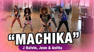 MACHIKA - J.Balvin, Jeon, Anitta (Coreografía) / Zumba Dance by YSEL GONZÁLEZ