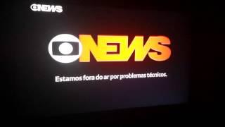 """FAIL! na volta do comercial o Programa """"Entre Aspas"""" GNews"""