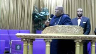 Bishop Moales-God's Not Dead Praise Break