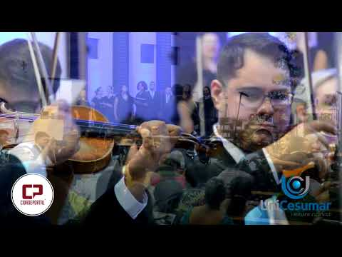 Orquestra Filarmônica do Unicesumar se apresentou pela terceira vez em Goioerê - Cidade Portal