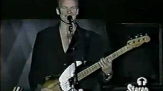 Sting-A day in the life- Cover ( live in Santiago 1994)