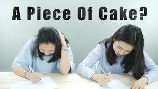 Koreans Take SAT Math Section