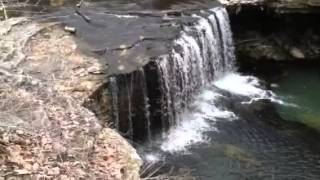 The waterfall in Quincy