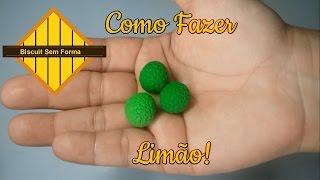 Como Fazer Biscuit #16 -  Limão!