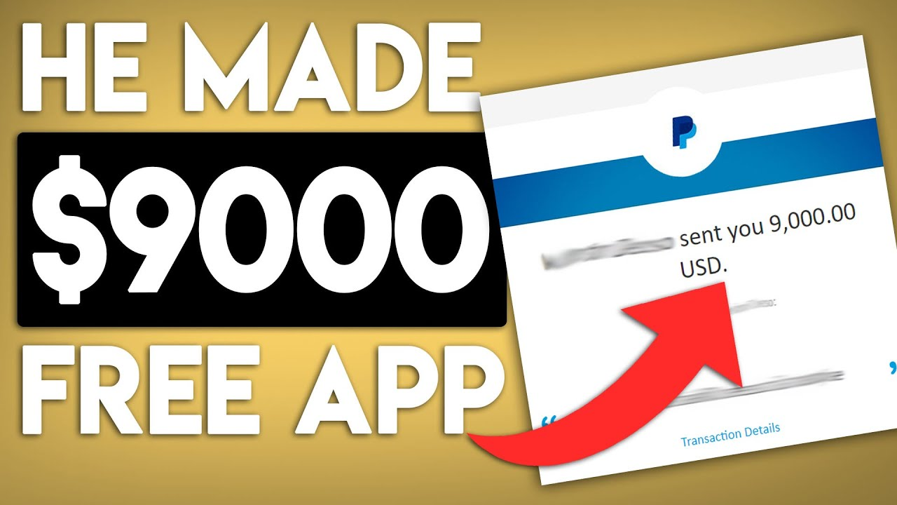 Make BIG Money With This Free App! (PayPal Money)