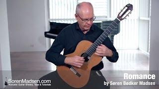 Romance (Soren Madsen) - Danish Guitar Performance - Soren Madsen