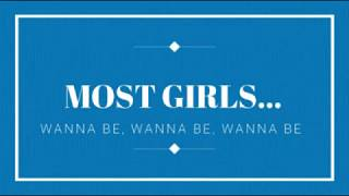 Most Girls - Hailee Steinfeld (Clean Lyrics)