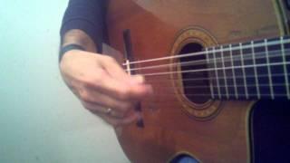 Freddie Schiftan rhumba guitar percussion strum 1