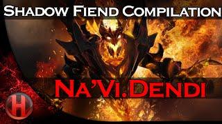 Na'Vi.Dendi Shadow Fiend Compilation Dota 2
