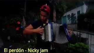 Nicky Jam y Enrique Iglesias El Perdón |  En Acordeon  | Vallenato 2015