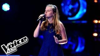 """Gabrysia Kurzac – """"When We Were Young"""" – Przesłuchania w ciemno – The Voice Kids Poland"""