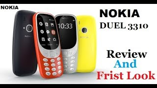 NOKIA 3310 Review And Frist Look !!! NEW NOKIA PHONE !