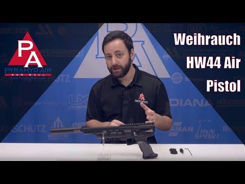 Video: Weihrauch HW44 Air Pistol | Pyramyd Air
