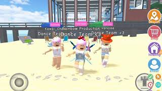 We Stick Together(Nightcore)Dance|Robloxian Highschool