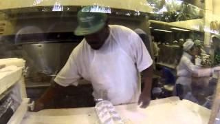 Cafe du Monde New Orleans - Making Beignets - December 2013