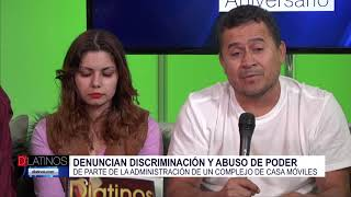 Denuncian discriminación y abuso de poder en una comunidad de casas móviles en Naples