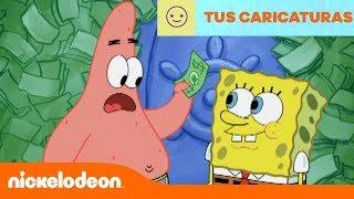 Bob Esponja | Qué hacer con mucho dinero | Nickelodeon en Español