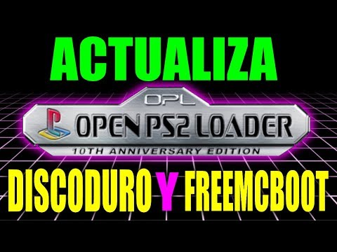 ACTUALIZAR OPEN PS2 LOADER || CARGAR JUEGOS DISCODURO USB PLAYSTATION 2 - PS2 COPIAS DE SEGURIDAD