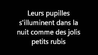 J'aime les licornes ~ lyrics ~