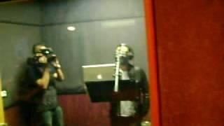 One Flo in the Studio with Frankie J