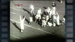 Big Ten Film Vault: 1950 Yearbook - Michigan vs. Minnesota