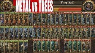 Metal vs Trees