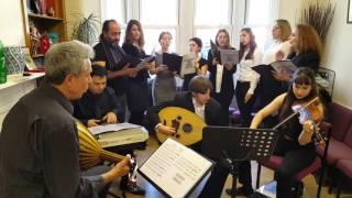 Nevabuselik Turkish Ottoman Music Choir--Susamış Topraklar Gibi Gönüller -