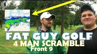 4 man Scramble at Good Park  - Part 1 - Front 9