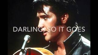 Can't help falling in love - Elvis Presley - Karaoke female version high