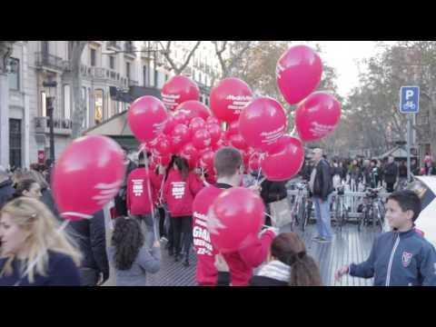 Acción de Street Marketing para MediaMarkt