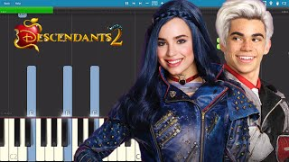 Descendants 2 - You And Me - Piano Tutorial - Cover