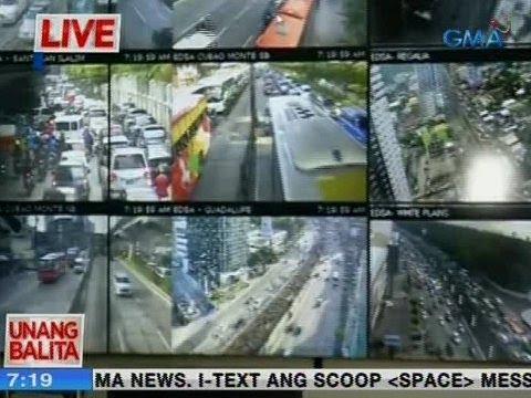 Traffic update as of 7:19 a m  (July 3, 2018) via MMDA | Video | GMA