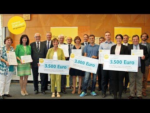 TV Mainfranken: Verleihung Bürgerenergiepreis Unterfranken 2018