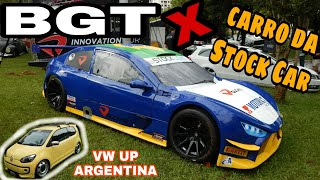 CARRO DA STOCK CAR E VW UP DA ARGENTINA - BGT X - BUBBLE GUN TREFFEN / Canal Custom Cars