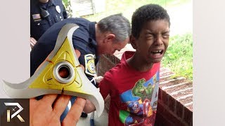 10 Times TOYS Got Kids In TROUBLE With Police Officers