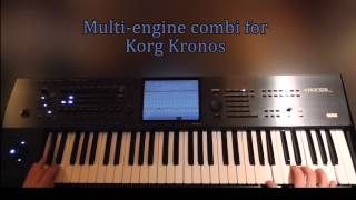 Korg Kronos sounds || Crazy - Seal