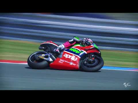 2018 Czech GP - Aprilia in action