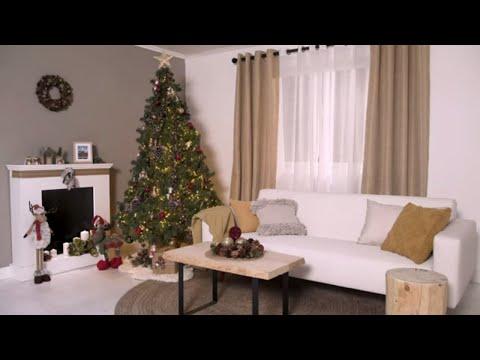 Tendencia navideña rústica – LEROY MERLIN