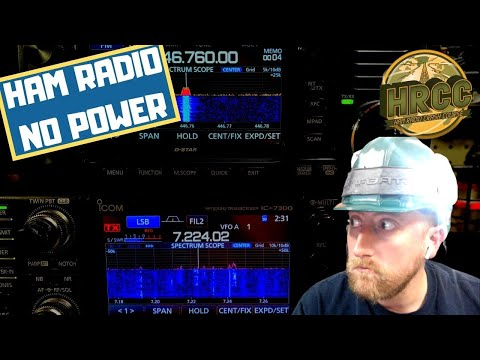 What To Do With Ham Radio When You Lose Power?