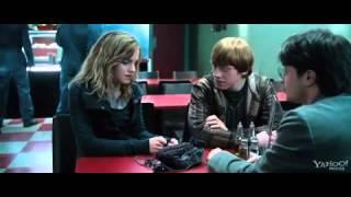 Harry Potter & Hermione & Ron vs Death Eaters