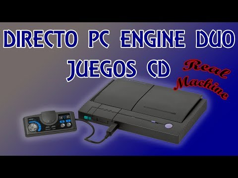 Directo Pc Engine Duo Especial Juegos CD #2