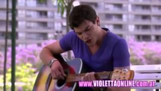 Violetta 2 Momento Musical Diego canta 'Yo soy asi' Sub