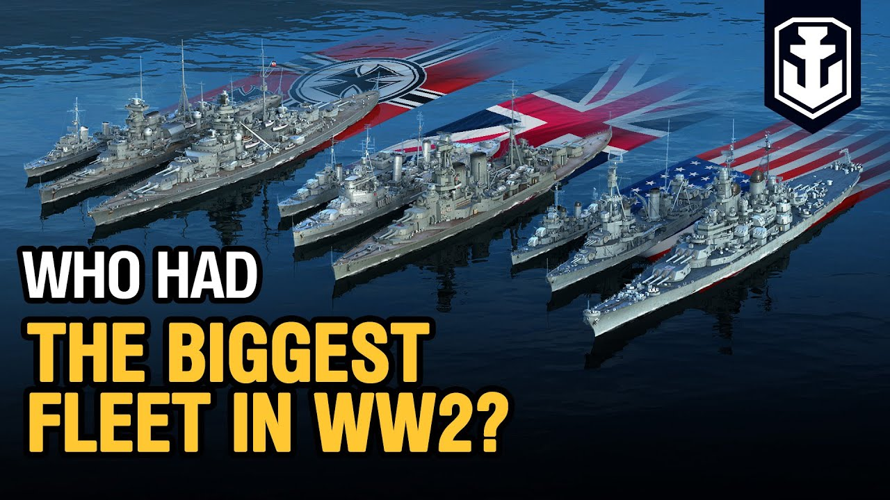 World War 2 Navy Comparison — Fleets Evolution 1939–1946