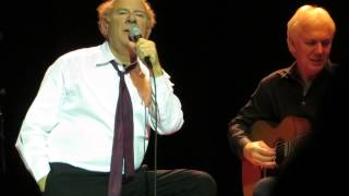Art Garfunkel - Bridge Over Troubled Water LIVE - Feb 7, 2014 - Atlanta, GA