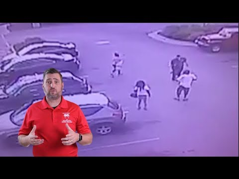 Security Guard Decides To Step In To Third Party Encounter